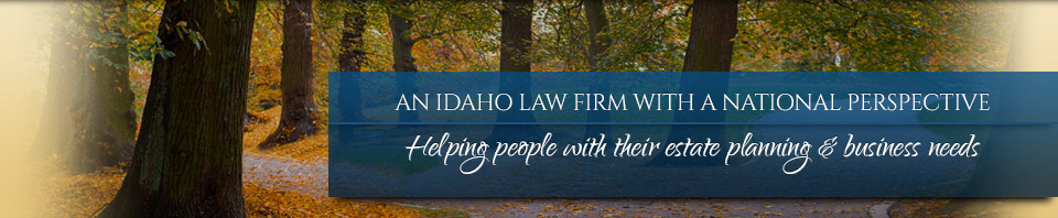 An Idaho Firm With a National Perspective